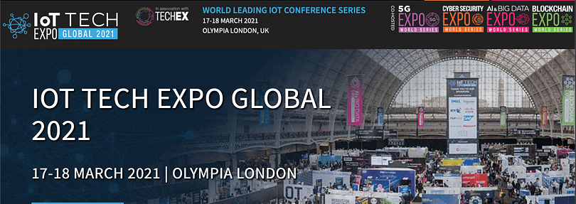 IOT Tech Expo Global event banner
