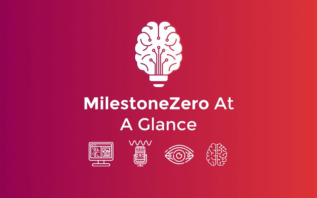 MilestoneZero at a glance