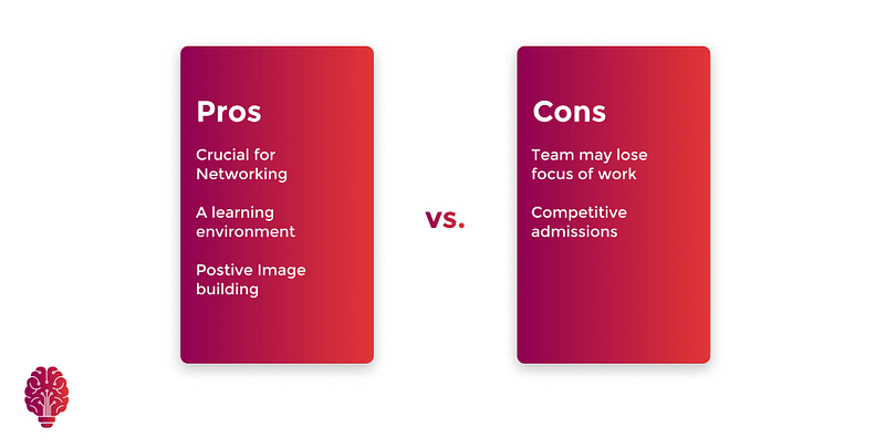 Pros and cons of incubators